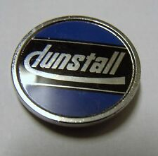 DUNSTALL MOTORCYCLE ROCKER LAPEL PIN BADGE 28mm diameter