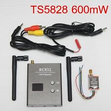 Mini Set Wireless AV Transmitter TS5828 +Receiver RC832 Kits FPV 32Ch 5.8G 600mW