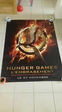 THE HUNGER GAMES CATCHING FIRE 4x6 ft Bus Shelter D/S Movie Poster Original 2013