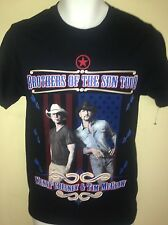 KENNY CHESNEY & TIM MCGRAW BROTHERS OF THE SUN TOUR 2012 SMALL T SHIRT COUNTRY