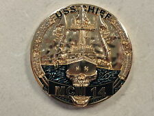USS CHIEF (MCM-14) CHIEF PETTY OFFICER CHALLENGE COIN