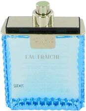 Versace Man Cologne Blue Men Perfume Eau Fraiche EDT Spray 3.4 oz 100 ml TESTER