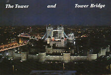 Postcard  London The Tower and Tower Bridge   unposted T & B