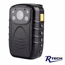 R-Tech HD 1080p Infrared Night Vision Police Body Camera Security 32 GB memory
