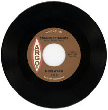 """HERB WARD  """"STRANGE CHANGE c/w WHY DO YOU WANT TO LEAVE ME""""  NORTHERN SOUL"""