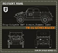 HQ PAINT MASK for KUBELWAGEN type 82 IN 1/6 SCALE  14