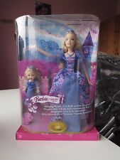 NUOVA Barbie ® SLEEPING BEAUTY La Bella Addormentata con Shelly OVP, 2006! MATTEL k8064