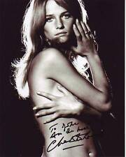 CHARLOTTE RAMPLING Autographed Signed SEXY TOPLESS Photograph - To John