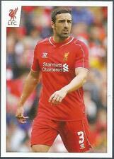 PANINI LIVERPOOL STICKER-2014/15- #019-JOSE ENRIQUE IN ACTION
