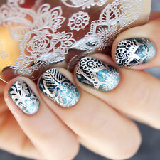 BORN PRETTY Nail Art Stamping Image Plate Stencil Arabesque Flower DIY BP-98