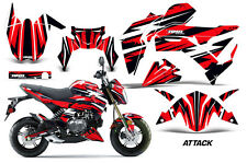 AMR Racing Kawasaki Z125 PRO Graphic Kit Dirt Bike Decals MX Wrap 2017 ATTACK R