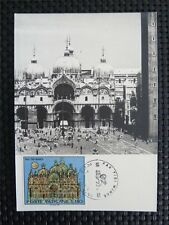 VATICAN MK 1972 BASILICA VENEZIA VENEDIG MAXIMUMKARTE MAXIMUM CARD MC CM c4434