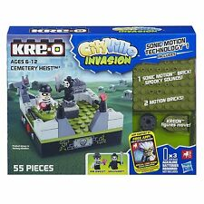 Kre-o CityVille Invasion Cemetery Heist Toy Age 6+ Sonic Motion Spooky Sounds