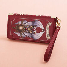 Japan Anime Card Captor Sakura Cosplay Clow Handbag Purse Wallet Collection Red