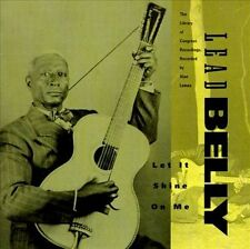 Let it shine on me The Library of Congress recordings, Lead Belly, Vol. 1