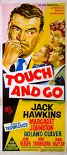 TOUCH AND GO 1955 Jack Hawkins Margaret Johnston Roland Culver AUSTRALIAN POSTER