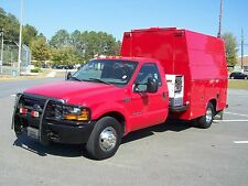 2000 Ford F-350 POWERSTROKE DUALLY EMERGENCY RESPONCE UTILITY UNIT