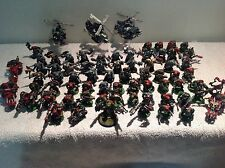 Warhammer Space Ork Warriors, Deff Copters & Fast Attack 72 Plastic Figures