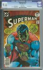 SUPERMAN #317 CGC 9.6 WHITE PAGES
