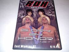 ROH Glory by Honor V 5 Night One  EasT Windsor CT 9/15/06 Ring of Honor DVD