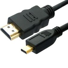 1.8M MICRO HDMI to HDMI Cable Lead 1080p for Amazon Kindle Fire HD LCD TV Out UK