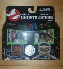 Best of Ghostbusters Minimates WINSTON ZEDDMORE & ZOMBIE TAXI DRIVER
