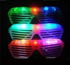 60 PCS LED Shutter Glasses Light Up Shades Flashing Rave Wedding Party Supplies