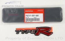 Honda Civic EP3 Type R REAR EMBLEM BADGE 2001-05 JDM H Red Genuine OEM MK7