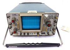 TEKTRONIX 465 ORIGINAL OSCILLOSCOPE, 100 Mhz BANDWIDTH, 75 WATTS, 1A @115V 60H