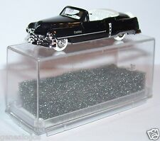 MICRO PRALINE HO 1/87 CADILLAC 54 LUXUS CABRIOLET OUVERT NOIR IN BOX