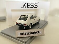 Kess Model 1/43 Fiat 127 2° serie 1977 White  Art. KE43010070