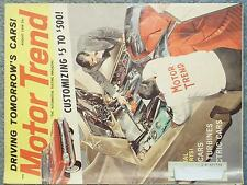 1959 AUGUST MOTOR TREND MAGAZINE  SPECIAL REPORTS AIR CARS GAS TURBINES ELECTRIC