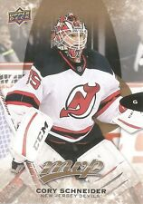 Cory Schneider #205 - 2016-17 MVP - High Series Short Prints