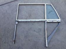 65 - 80 ROLLS ROYCE SILVER SHADOW LEFT REAR DOOR WINDOW GLASS TRACK FRAME