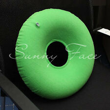 Inflatable Air-Filled Cushion Pad Anti-Bedsore Mattress U Pillow/Back Neck Head