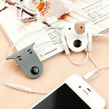 Cute Doggie Earphone Earbud Headphone Cable Cord Organizer Wrap Winder 4pcs