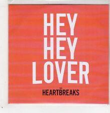 (GB650) The Heartbreaks, Hey Hey Lover - 2014 DJ CD