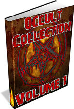 RARE OCCULT BOOKS Vol 1 DVD - Astrology,Divination,Swedenborg,Gnostisicm,Magick