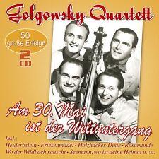 DAS GOLGOWSKY-QUARTETT - AM 30.MAI IST DER WELTUNTERGANG 2 CD NEW+