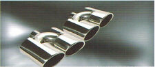 Stainless duplex Exhaust Tips tailpipe for Mercedes Benz AMG look  BMW Holden