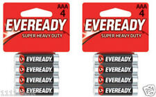 Eveready Energizer Super Heavy Duty AAA Batteries 8 Pcs (2 x 4)