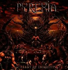 Feast of Iniquity by Pyrexia (CD, Oct-2013, Unique Leader Records)