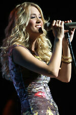 CARRIE UNDERWOOD 24X36 POSTER IN CONCERT RARE