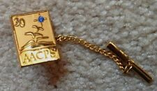 tie tac AACPS Anne Arundel County Public Schools  lapel or hat pin seaguls