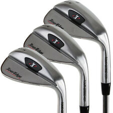 Tour Edge Golf TGS 3-Piece Wedge Set (52*/56*/60*) Approach, Sand & Lob - NEW