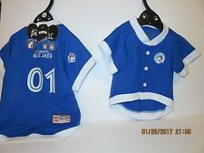 Toronto Blue Jays Dog/Cat Pet Jersey Size Small NEW Official MLB