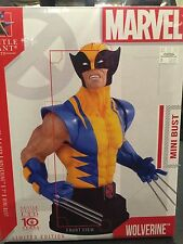 GENTLE GIANT WOLVERINE CLASSIC YELLOW MINI BUST STATUE RARE MARVEL COLLECTIBLE