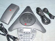 Polycom SS VTX1000 Conference 2201-07142-601 w/Wall Module refurb warranty