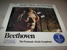 FAMILY LIBRARY OF GREAT MUSIC ALBUM 1 BEETHOVEN LP NM RCA Custom FW-301 1976