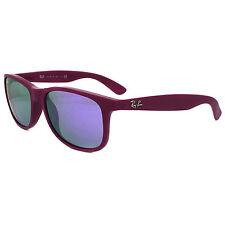 Ray-Ban Sunglasses Andy 4202 60714V Matt Violet Violet Mirror